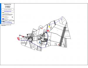 plan des zones sensibles commune du troncq