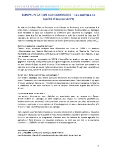 serpn communication aux communes