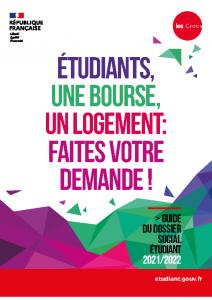 Guide Dossier Social Etudiant 2021-22
